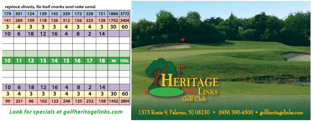 Course Info – Heritage Links Golf Course